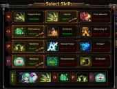 Select Skills system